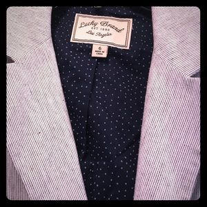 Lucky Brand linen blazer